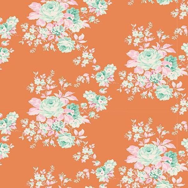 Tilda Harvest Bessie ginger fabric