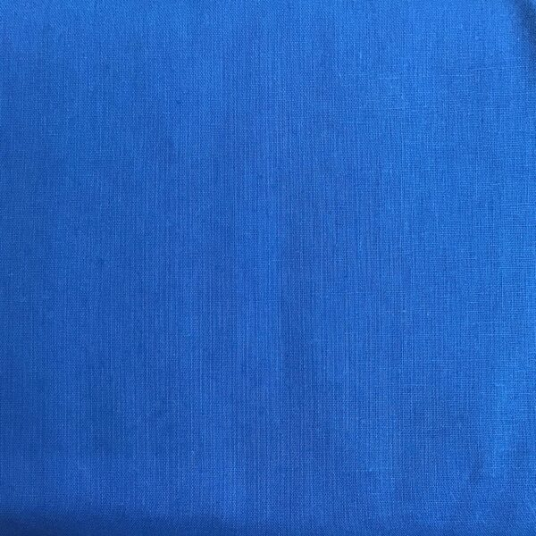 Essex linen indigo (mid blue) for Sashiko