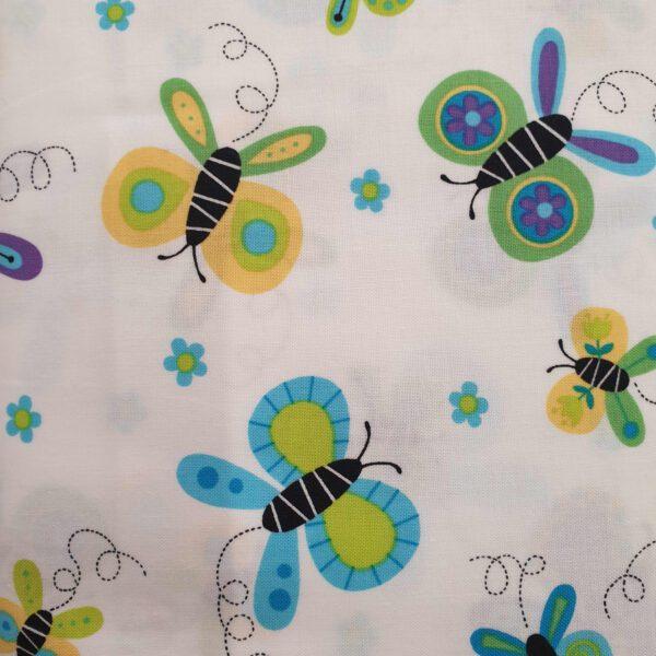 Andover 9381t Butterflies green