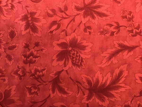 "MIDNIGHT CLEAR by Moda 108"" wide Floral  RED"