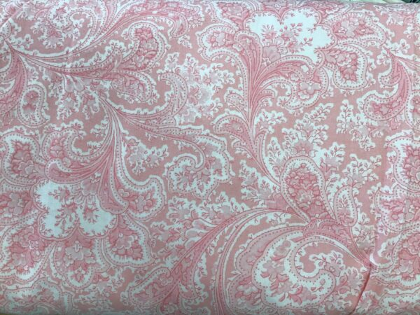 """2283W Paisley Floral by Benartex 108"""" wide Pink"""