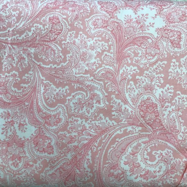 "2283W Paisley Floral by Benartex 108"" wide Pink"