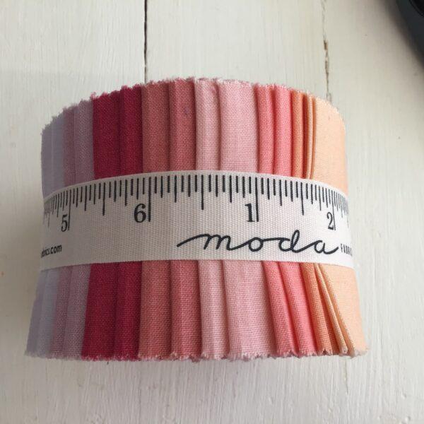 Ombré half jelly roll pastels Moda