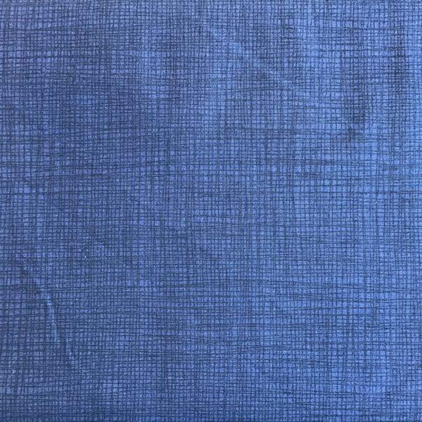 1525B9 Makower Linea Tonal Navy blue