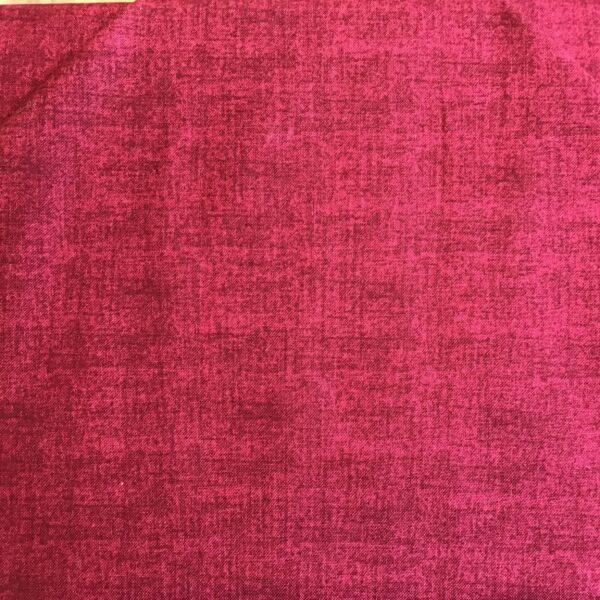 1473 R7 Makower Linen Texture dark red