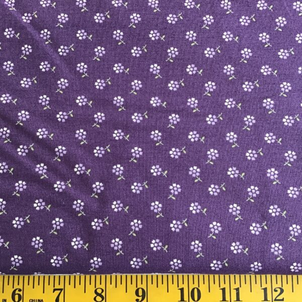 Msv222612 Andover Sweet Violet by Edyta Sitar Scattered Daisy, purple