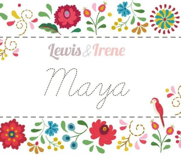 """Maya Scrumptious Squares by Lewis and Irene (40 x 10"""" squares)"""