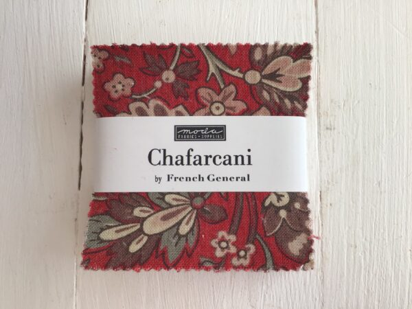 Chafarcani Mini Charm by French General Red