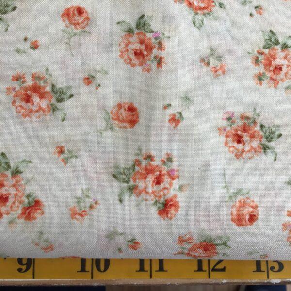 1234 ELLIE ANN Benartex floral peach