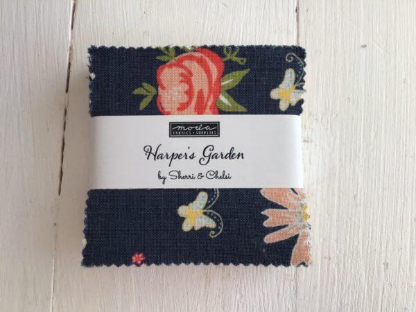 Harper's Garden by Sherri & Chelsi Mini Charm Blue Coral