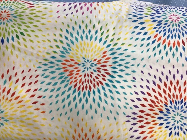 """Radiance 108"""" wide fabric multi by Henry Glass"""