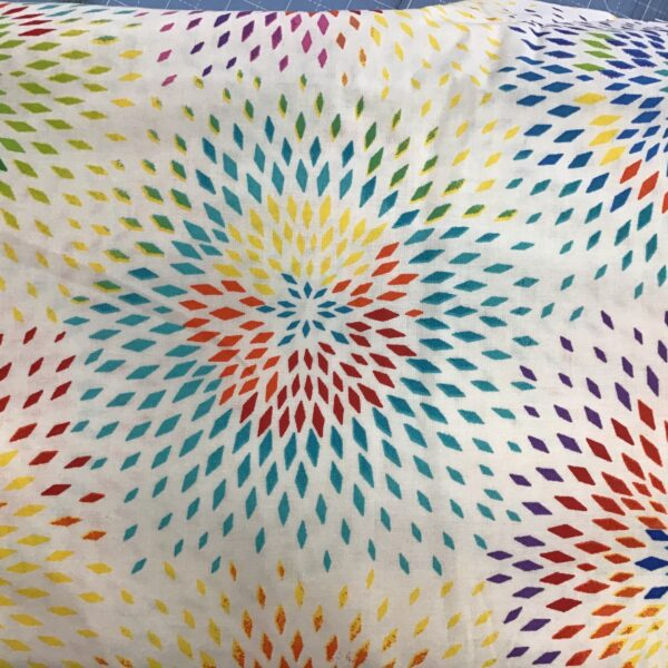 "Radiance 108"" wide fabric multi by Henry Glass"