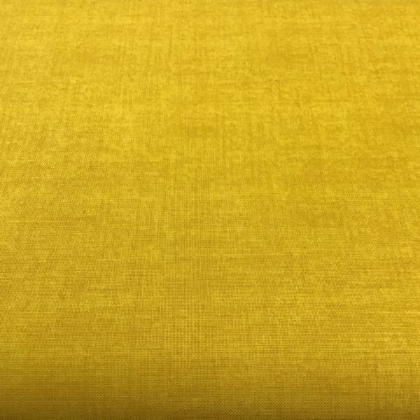 Linen Texture 1473Y5 Yellow Makower plain blender fabric