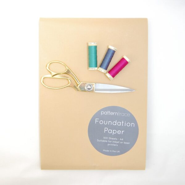 Foundation Paper, 100 A4 sheets, Printable by Patterntrace