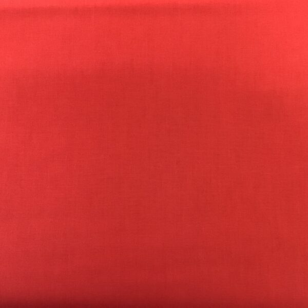 EQS SOLID 62377 plain RED fabric