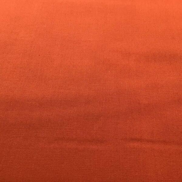 2000U05 Plain Vienna Dark Orange solid fabric by Makower Spectrum