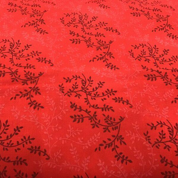"Tonal Vineyard 47603205 108"" wide Red backing fabric"