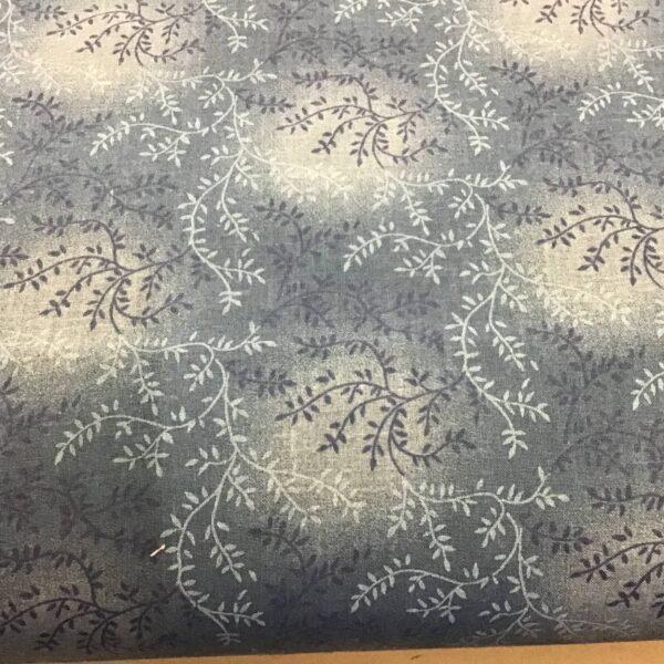 "Tonal Vineyard 47603207 108"" wide denim blue navy backing fabric"