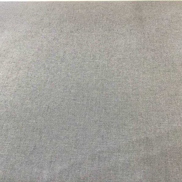 Plain Storm Grey solid fabric by Reynard