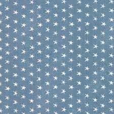 Branded 578116 Stars Blue Jean by Moda fabric