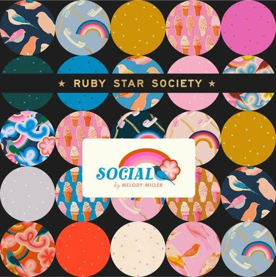 """""""Social"""" by Melody Miller for Ruby Star Society"""