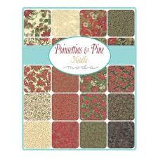 Poinsettias & Pine