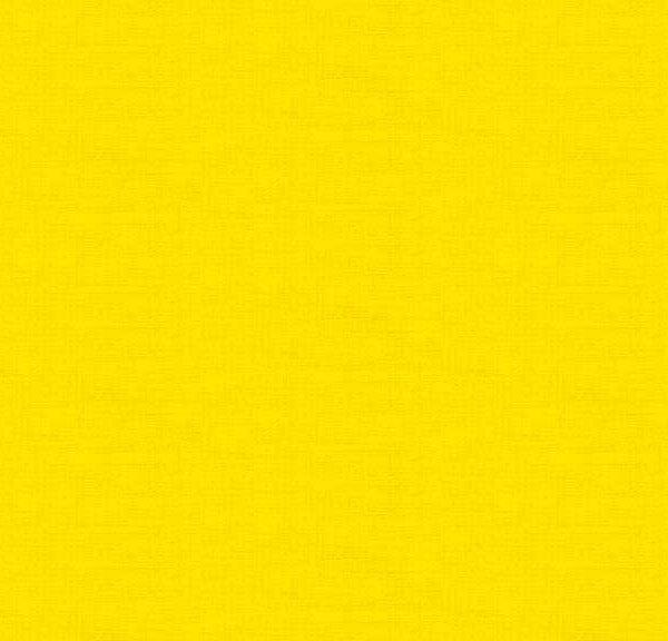Linen Texture 1473Y5 Yellow Makower plain blender fabric
