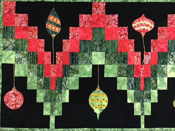 Christmas Bargello Table Runner Pattern