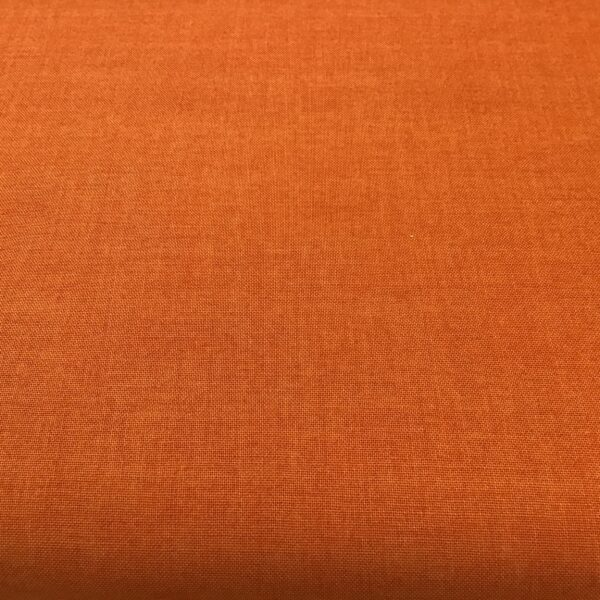 Linen Texture 1473N4 Orange Makower plain blender fabric