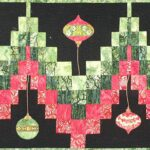 Christmas Bargello Table Runner Fabric Kit incl FREE pattern