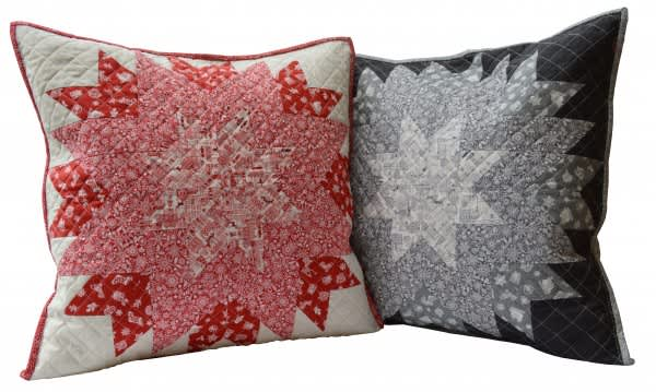 Cushion Fabric Kit - Christmas Scandi grey