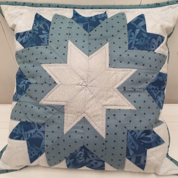 Cushion Fabric Kit - Plain Blues