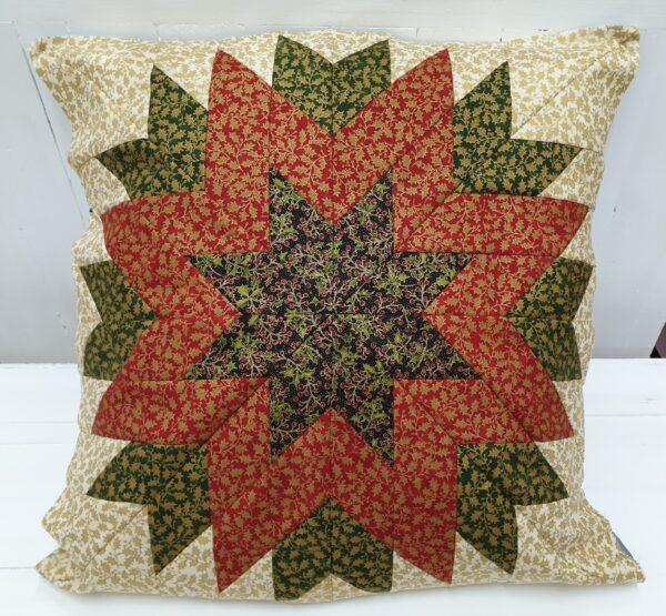 Cushion Fabric Kit - Christmas Holly