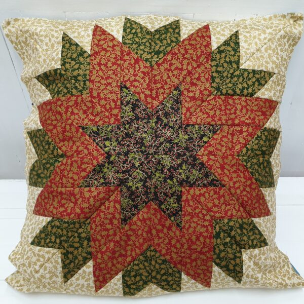 Cushion Fabric Kit - Christmas Holly