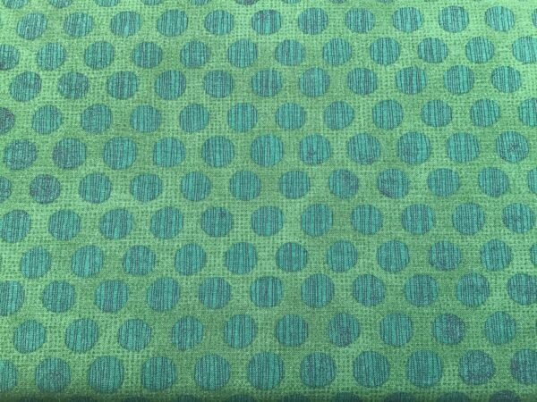 Naughty Or Nice 3063615 Large Spot Winter Spruce Green By Moda