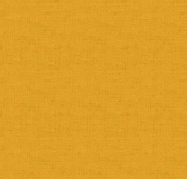 Linen Texture 1473Y7 Gold Orange Blender fabric by Makower