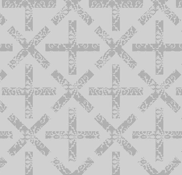 Art Theory 9704L X and + Kiss and Plus Grey by Alison Glass fabric