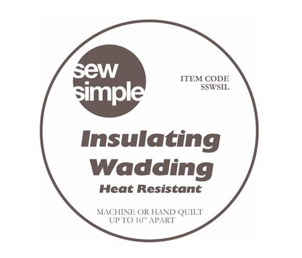 """Sew Simple Insulated wadding 24"""" wide"""