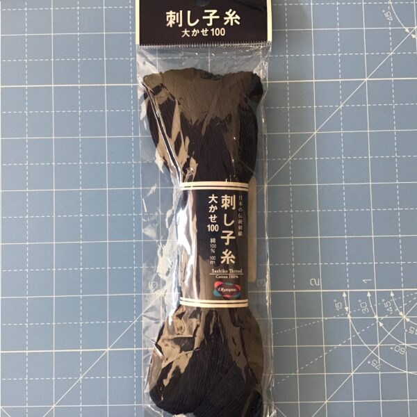 Japanese Sashiko thread 100m Indigo Blue