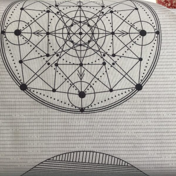 9068C Giucy giuce grey geometric