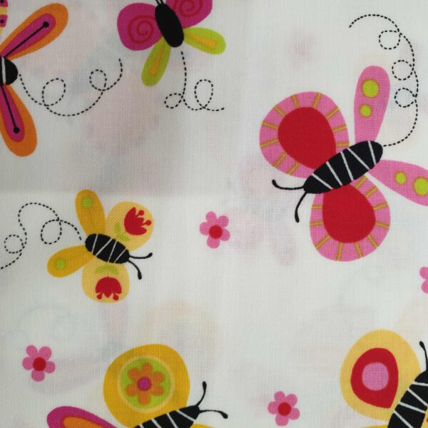Andover 93810 Butterflies reds