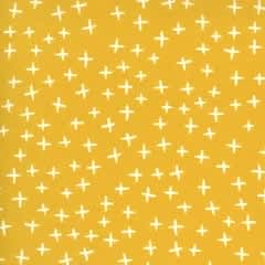 Quotation 173417 Plus Mustard Yellow by Zen Chic for Moda