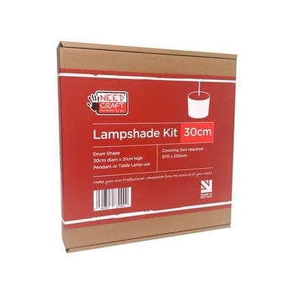 30cm Lampshade Kit just add half metre of fabric!