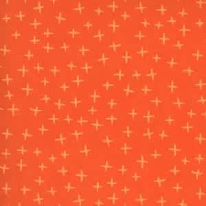 Quotation 173421 Plus Clementine Orange by Zen Chic for Moda fabrics