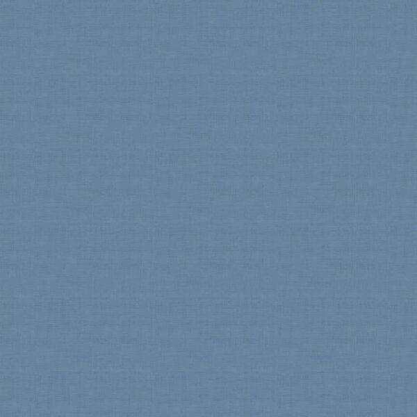 Linen Texture 1473B26 Delft Blue Plain by Makower fabric