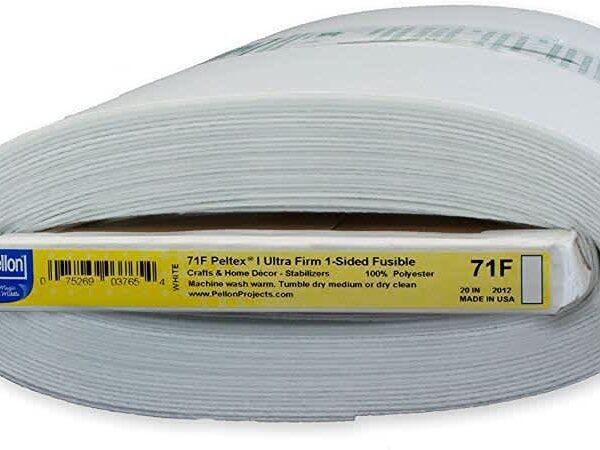 Peltex 71F 20″ wide Fusible Firm Interfacing (Pelmet Interfacing) from Pellon