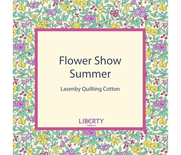 liberty flower show 21b hyde floral pink fabric