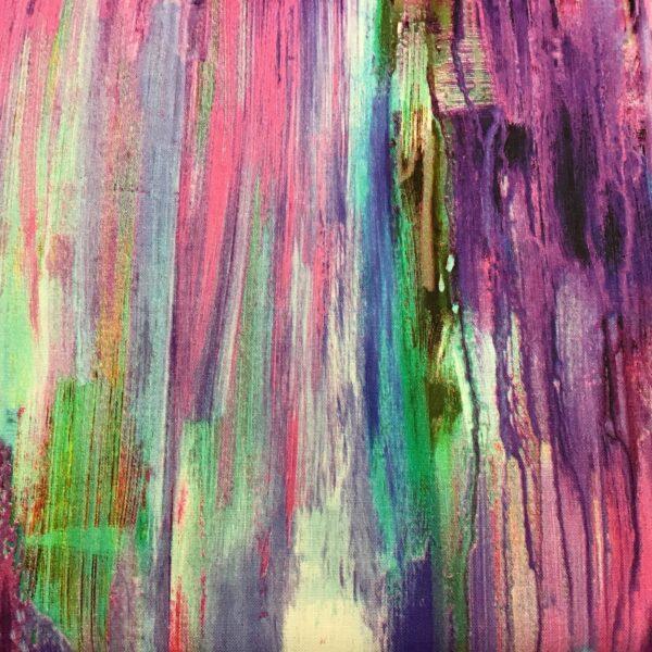 Enchanted Seascape 00104 Purple Pink Green by  PB fabrics