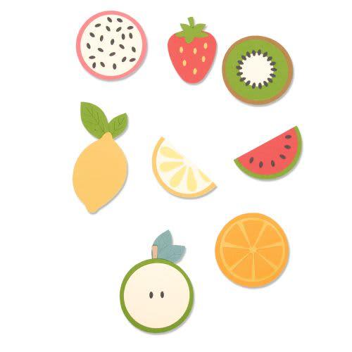 Sizzix Fruit Shapes 663855 Bigz Die