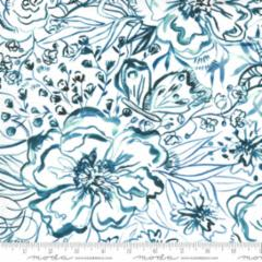 Sunshine Soul 846712 Jade Passion Flowers by Create Joy for Moda fabrics